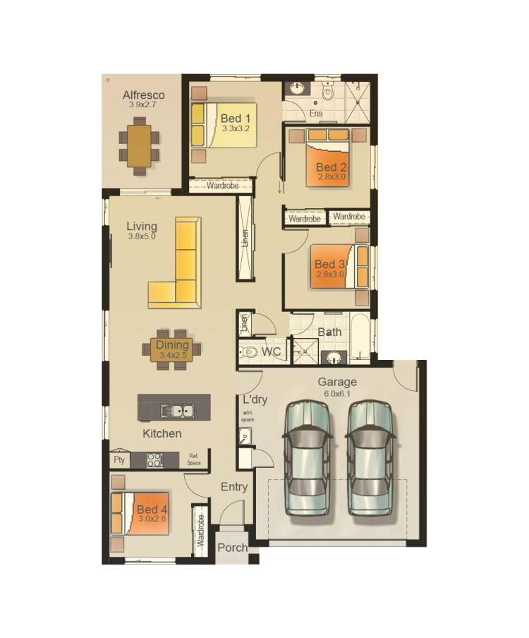 OPEL 169 - FLOORPLAN COLOURED_RH_WEB