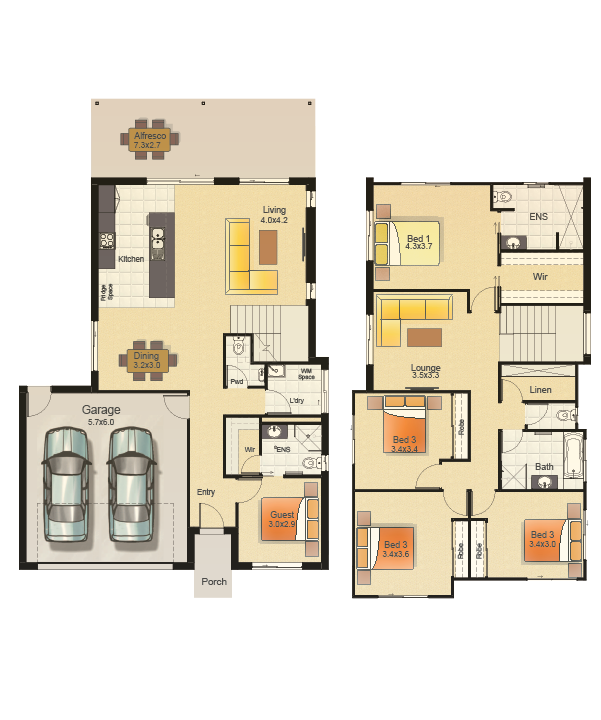 SEAVIEW 263 - FLOORPLAN COLOURED-WEB_LH