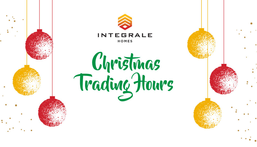 CHRISTMAS BREAK AND TRADING HOURS