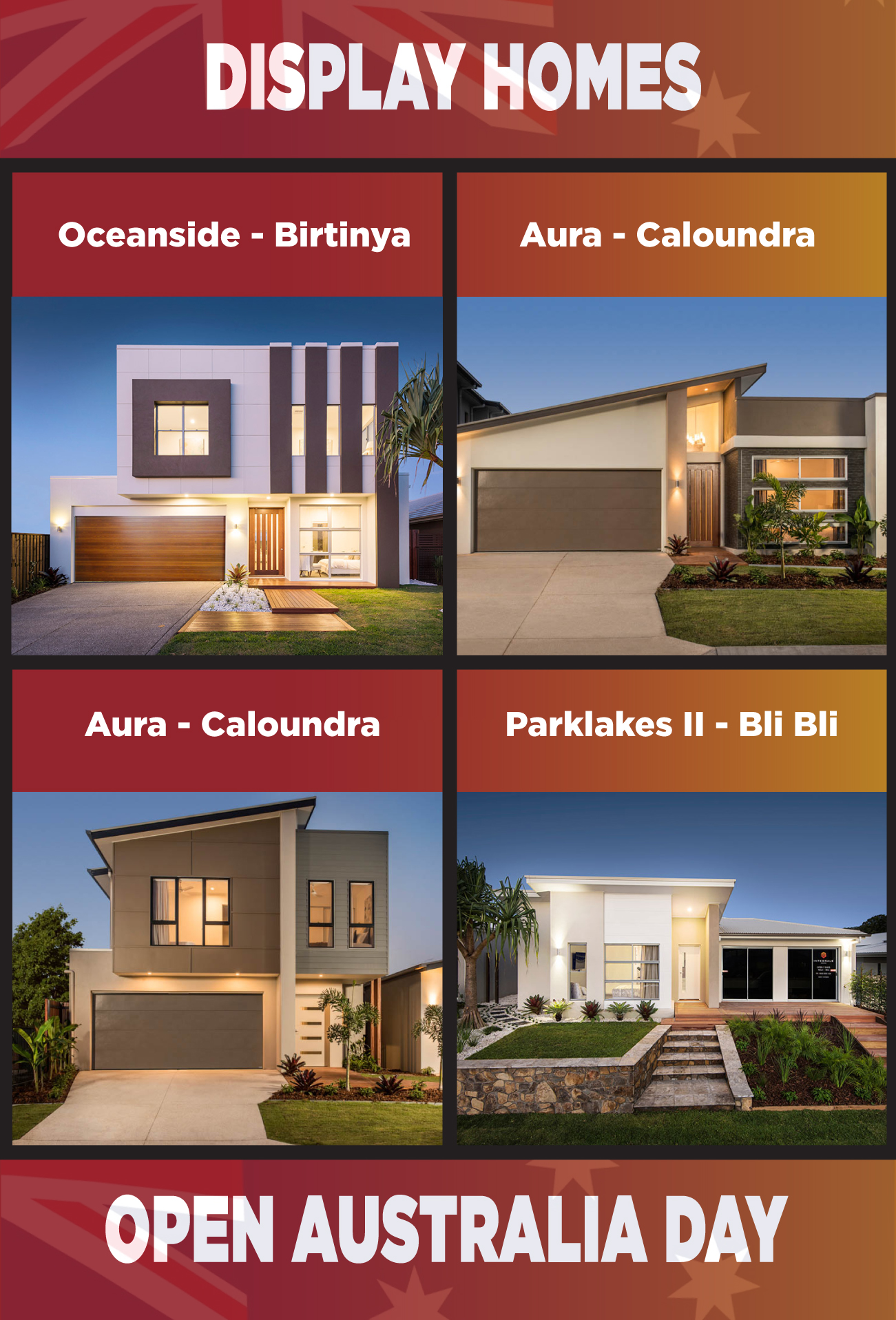 australia-day-display-homes-open-2 DISPLAY HOMES OPEN - AUSTRALIA DAY JAN 2018
