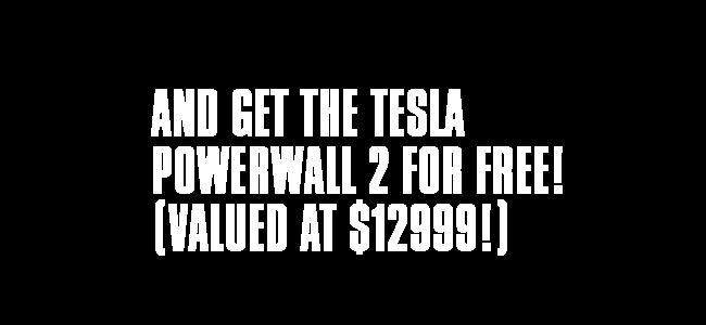 leftpowerwall1 Free Tesla Powerwall Promotion